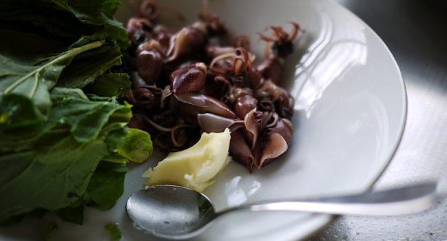 タオの百ヶ日法要用の自作料理