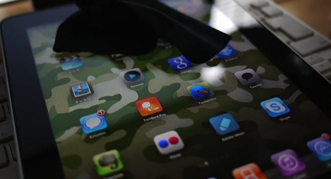 iPad3日目