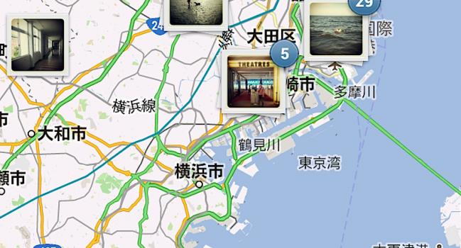 Photo Mapの続き(instagram)