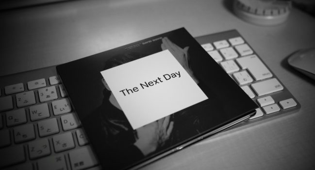 Bowie完全復活!! The Next Day