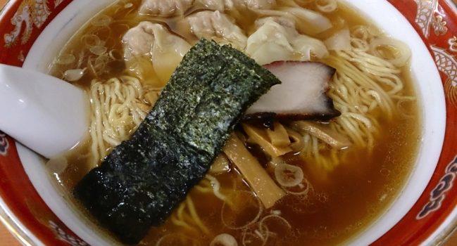 しみじみ&じんわりの極みワンタン麺@かづ屋(24)