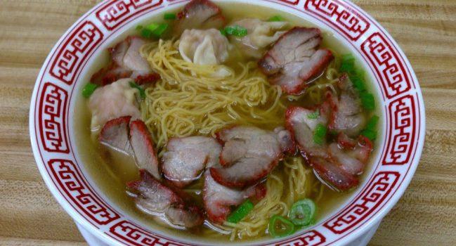 焼豚雲呑麺とラーメン(32-33)