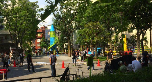 恵比寿公園(珈琲屋の人々)