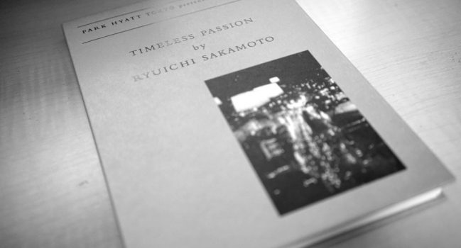 TIMELESS PASSION by RYUICHI SAKAMOTO