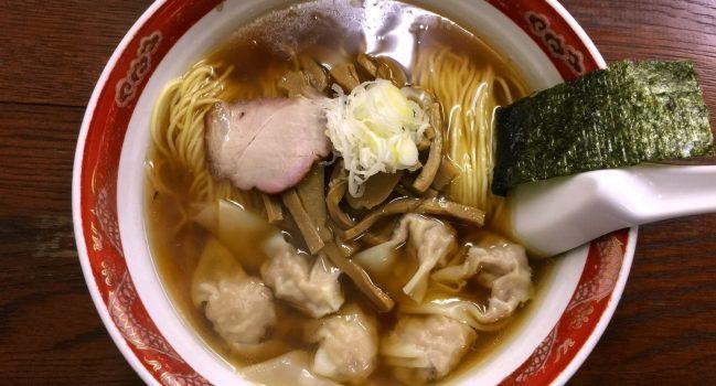 毎日でも食べたい、かづ屋のワンタン麺(54)
