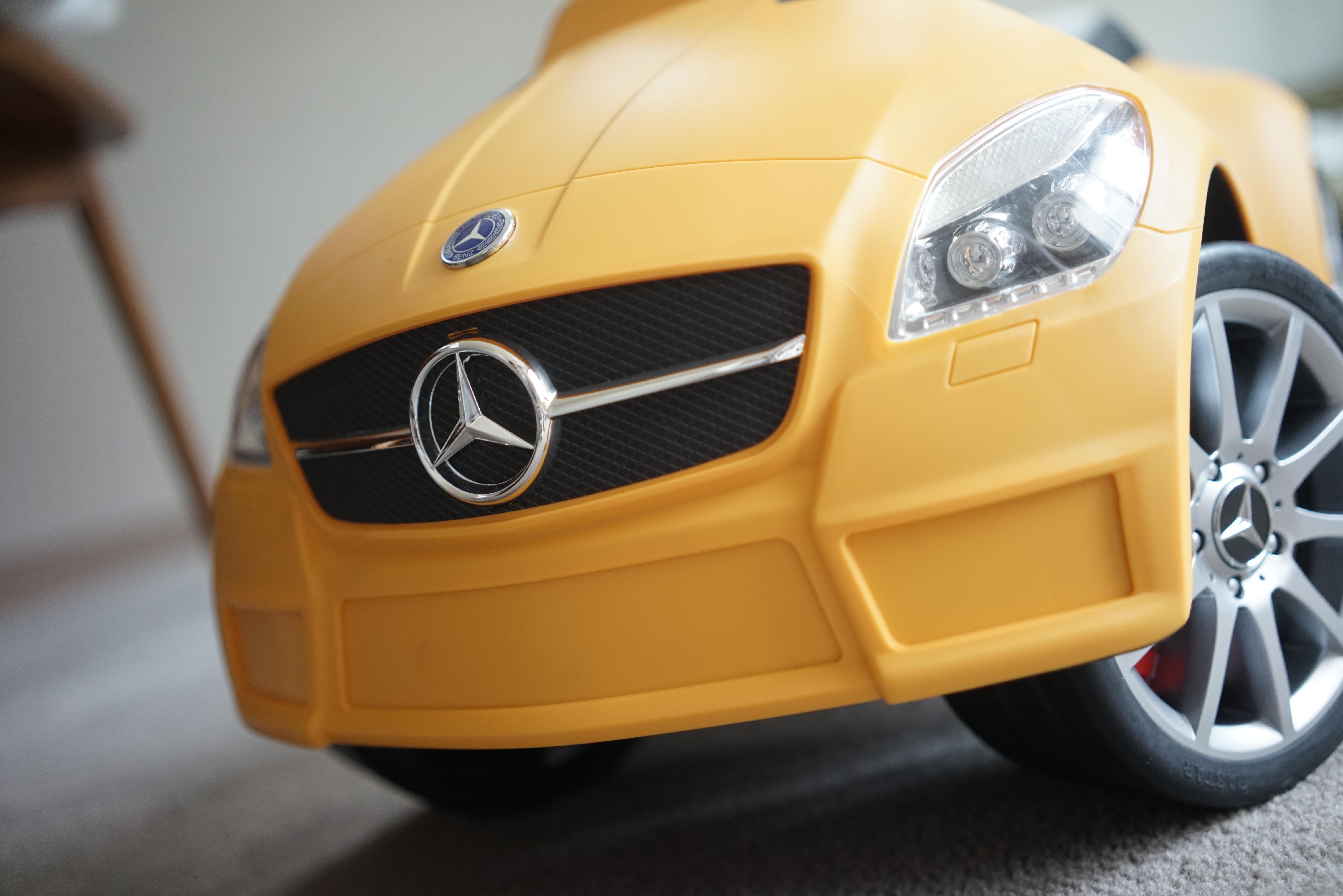 Mercedes-Benz(無免許運転)