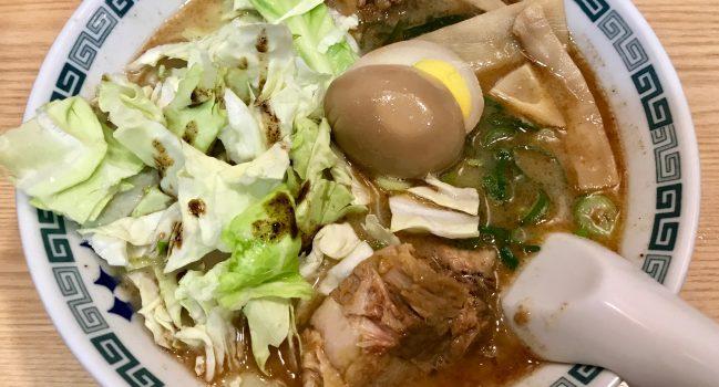 桂花ラーメン・渋谷センター街の太肉麺