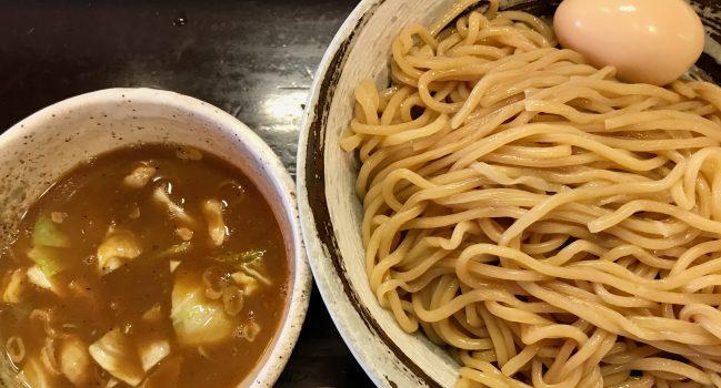 づゅる麺池田・目黒の味玉つけ麺