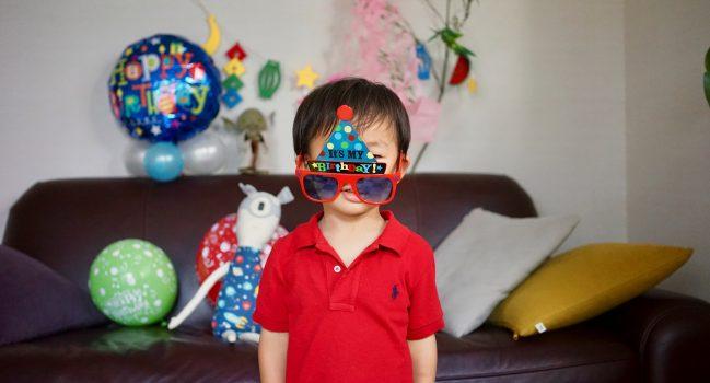 健太2歳(七夕生まれ)