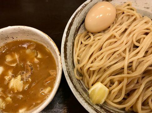 づゅる麺・池田の味玉醤油つけ麺
