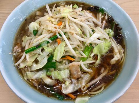自慢亭・ムサコの炒合菜麺