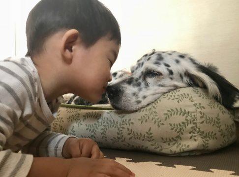 魔の2歳児のキス