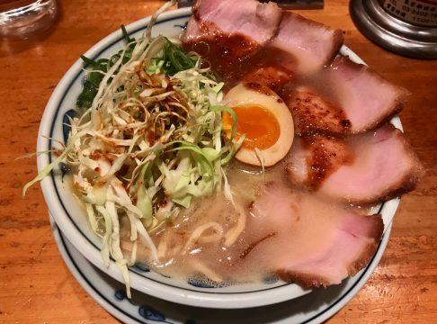 あの味に似ているパーティー後の渋谷三丁目らあめん