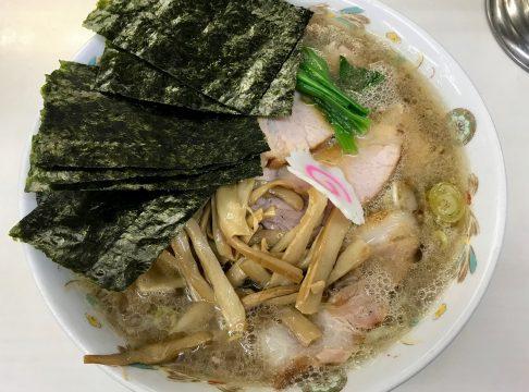アキバで食べる新潟生姜醤油ラーメン・青島食堂