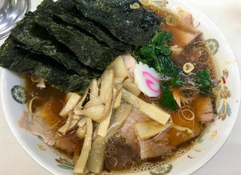 閉店間際の秋葉原・青島食堂