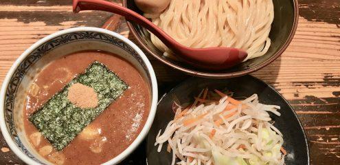 深夜の恵比寿・三田製麺所