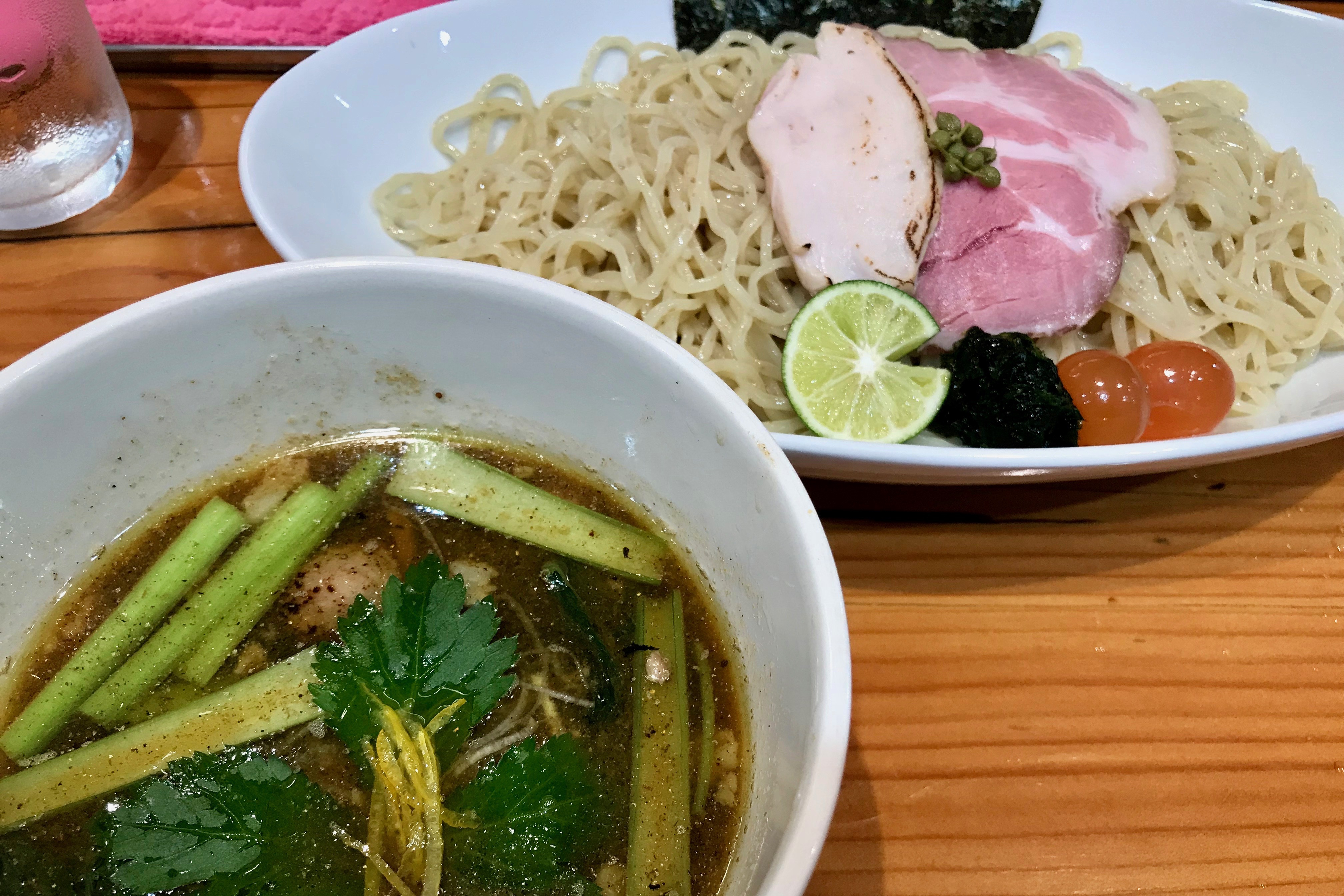 麺LABOひろのつけそば(醤油)