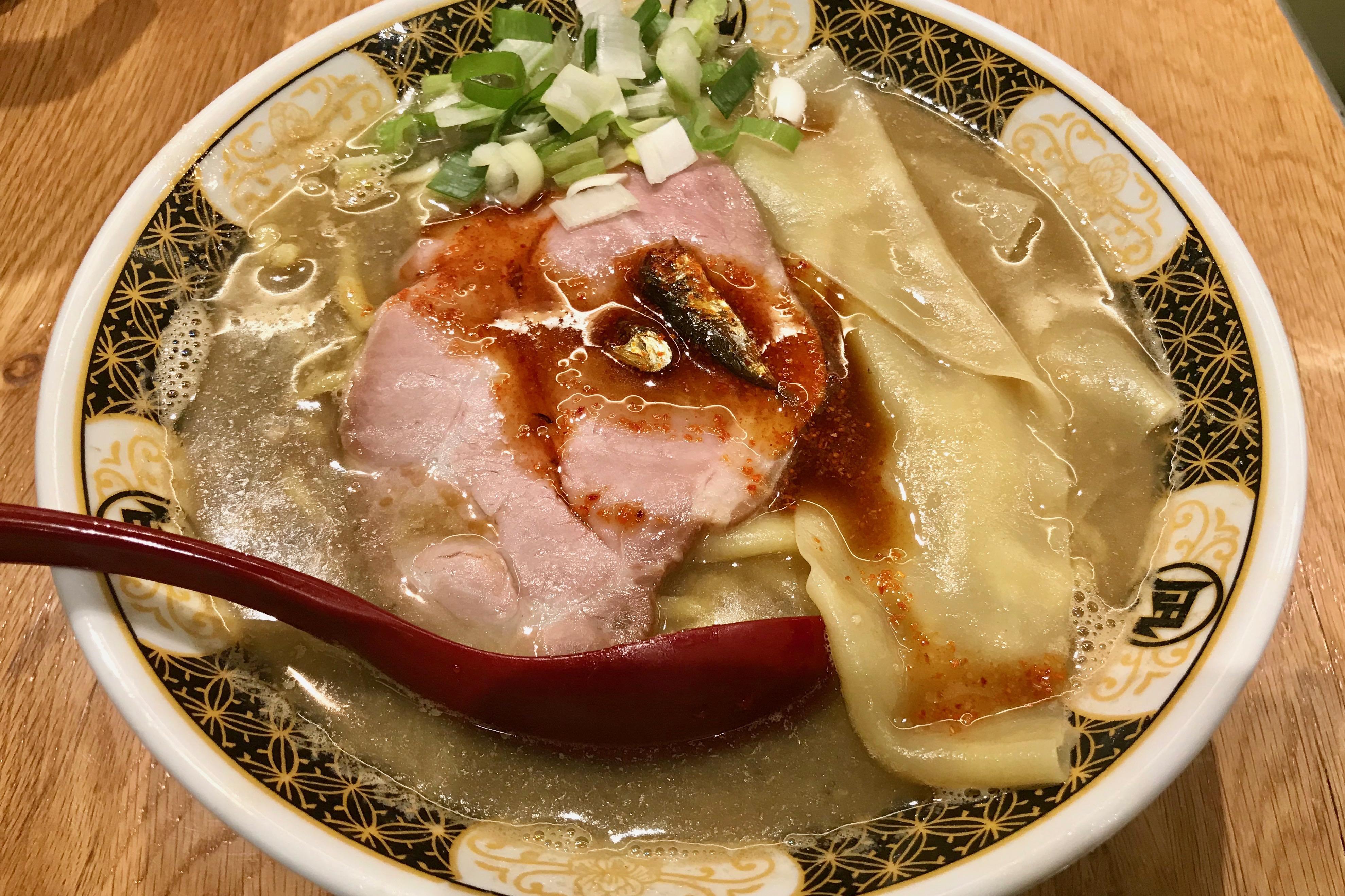 すごい煮干しラーメン凪・五反田西口店