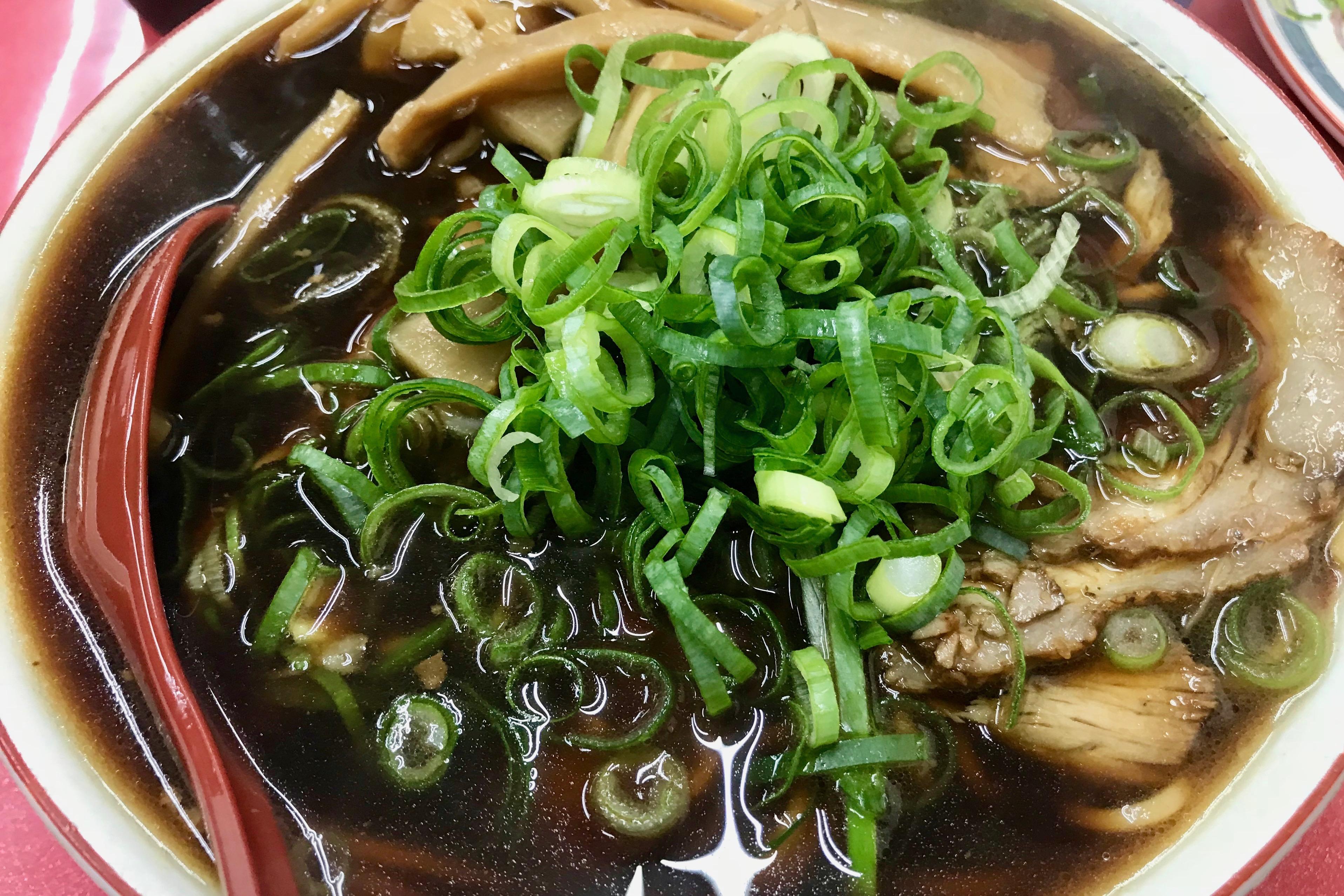新福菜館本店の竹入中華そば