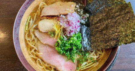 麺LABOひろ・五本木の淡麗煮干しそば