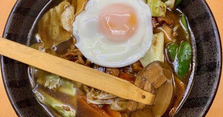 天下一・代々木店のホンコン麺
