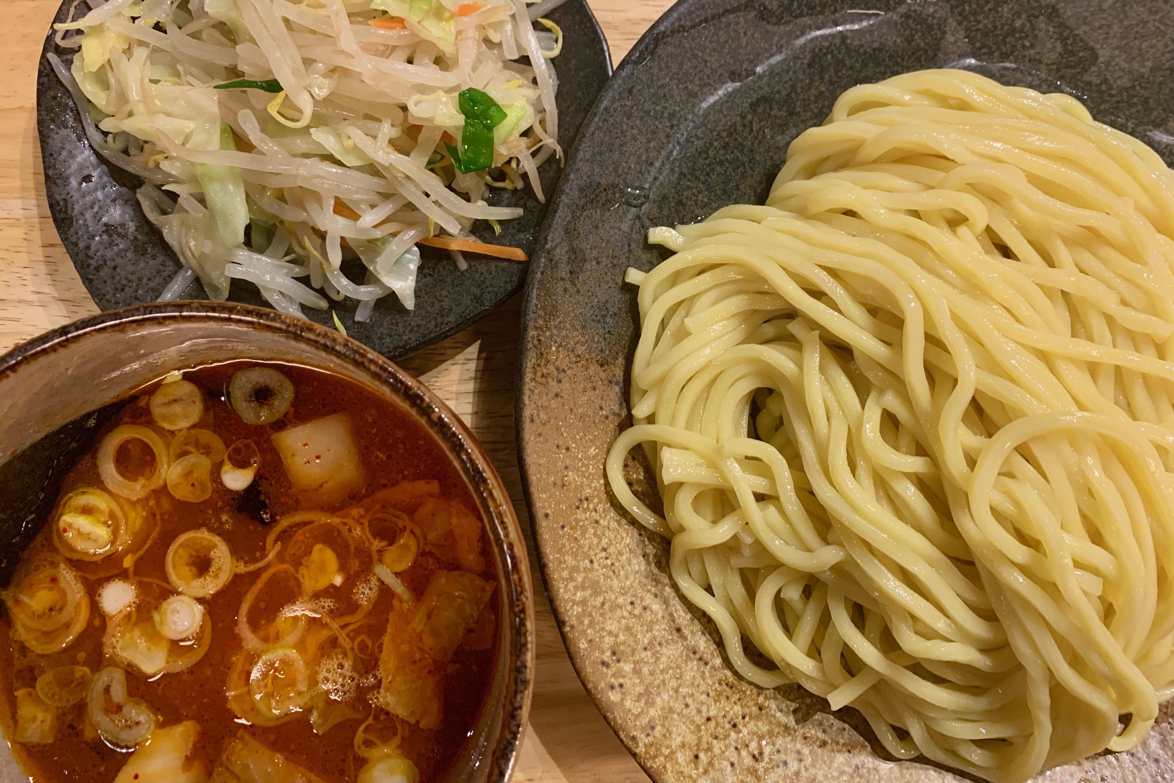 つけ麺屋やすべえ・渋谷店の野菜つけ麺