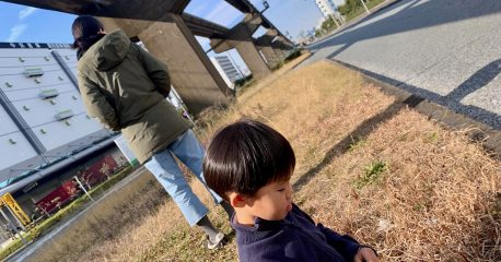 モノレールと縄跳び(アー写風)