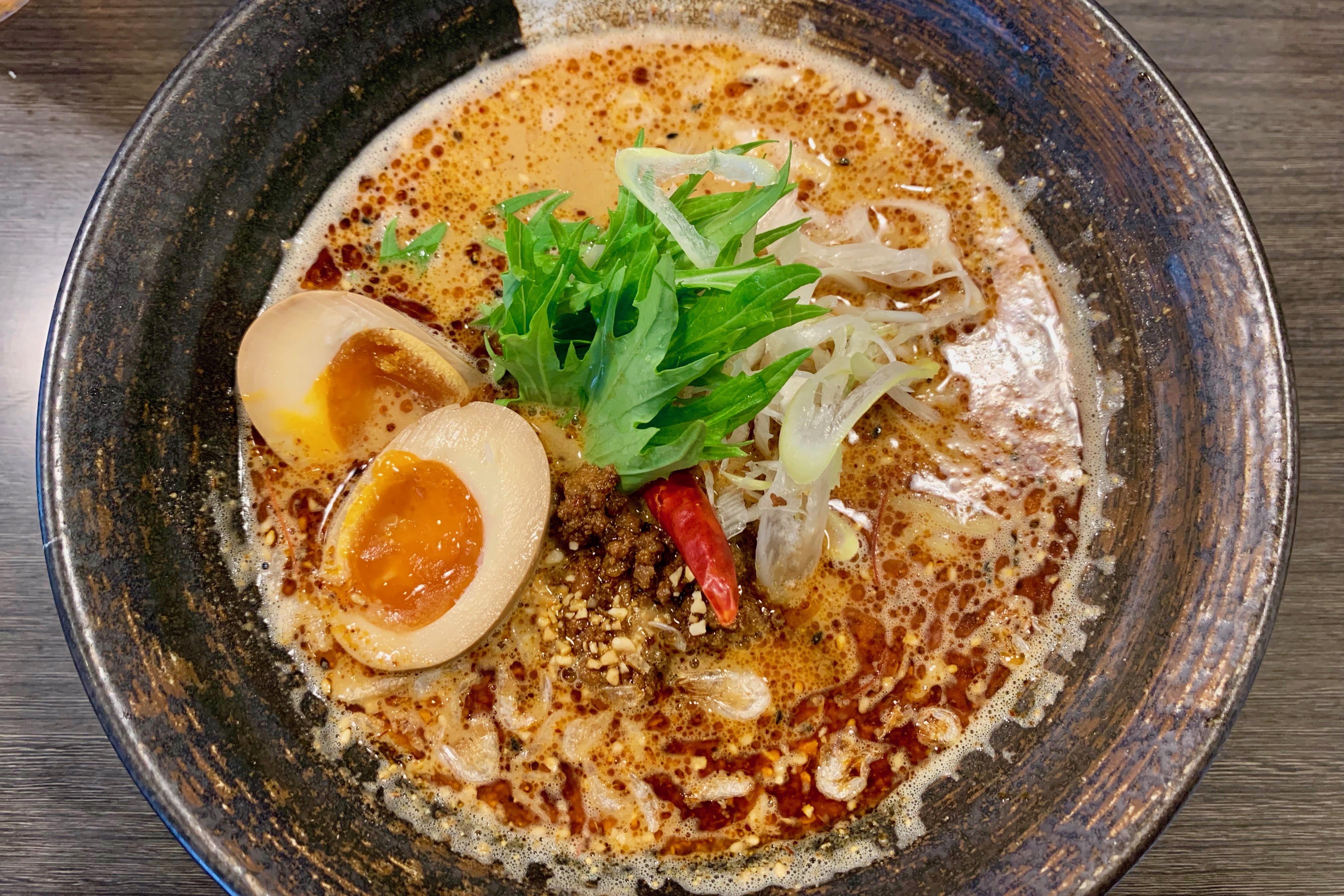 学大の香氣・四川麺条の紅担担麺