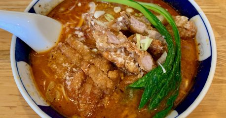 支那麺はしご赤坂店の排骨担々麺