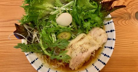 宮ノ下の麺398-1の醤油麺+はなまる野菜