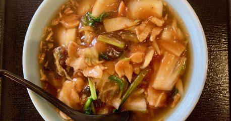 代々木の味道本色の広東麺