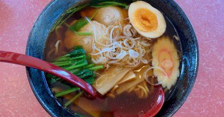 長岡の喜芳の生姜醤油ラーメン