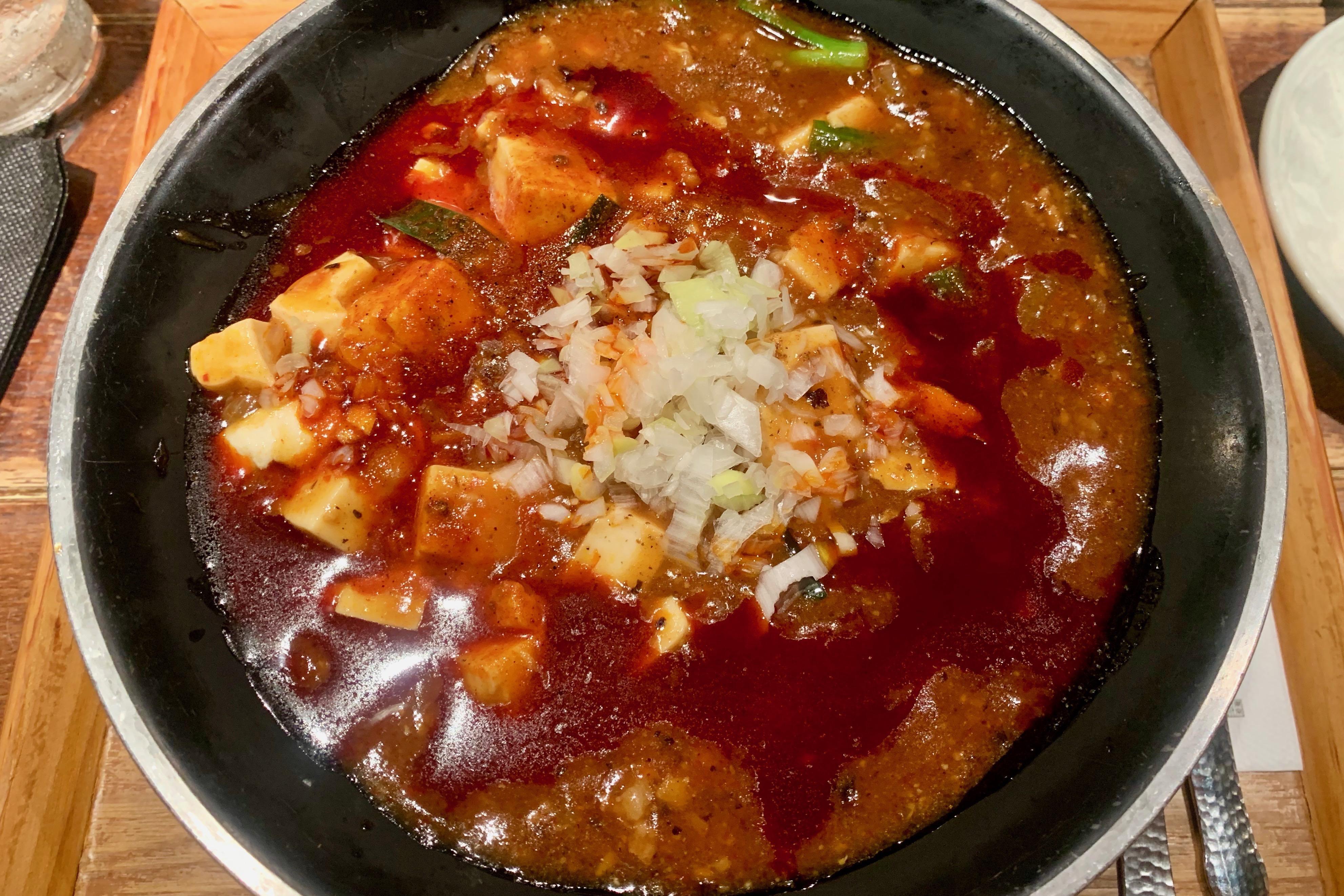 ナカメの新潟三宝亭東京ラボの全とろ麻婆麺