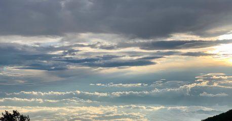 富士の雲海