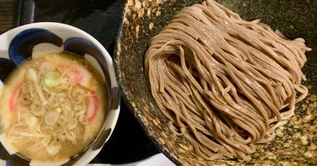 中目黒の三ツ矢堂製麺の全粒粉麺
