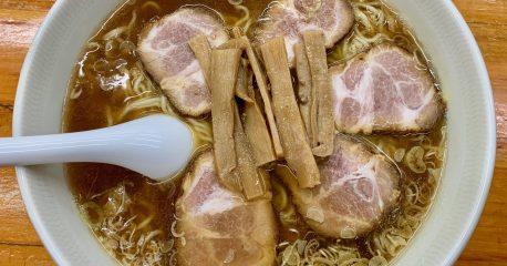 梅ヶ丘の中華そば専門店・勝やのチャーシュー麺