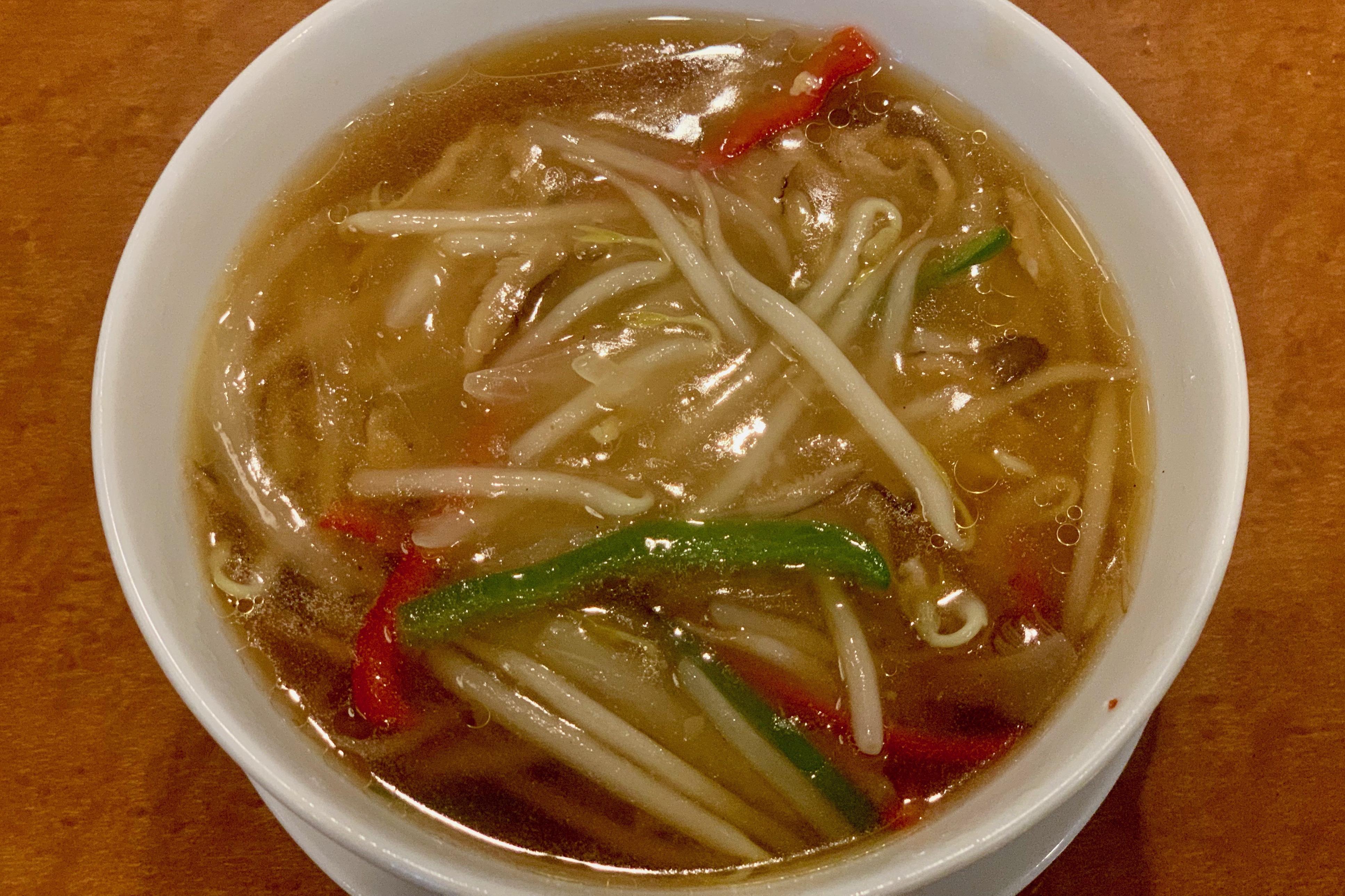 横浜大飯店のサンマー麺