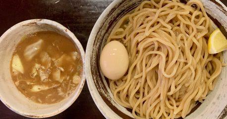 目黒のづゅる麺・池田の味玉つけ麺
