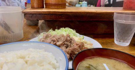 恵比寿のめし処こづちの味付け豚肉定食