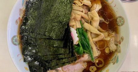 アキバの青島食堂の青島チャーシュー大+α