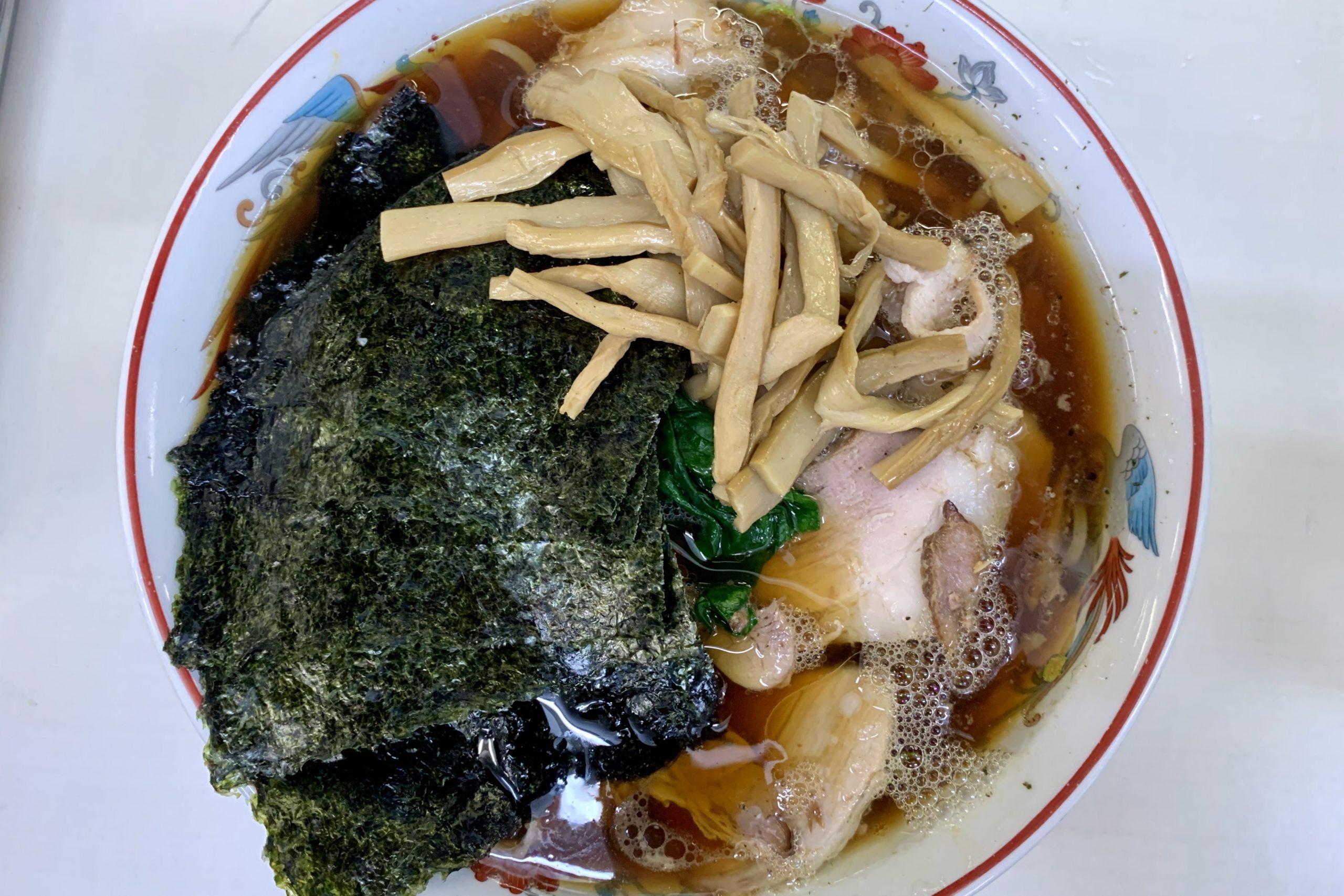 アキバ青島食堂で青島チャーシュー大海苔メンマ50