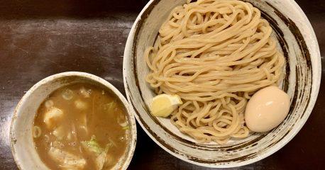 安定の目黒づゅる麺・池田の味玉つけ麺