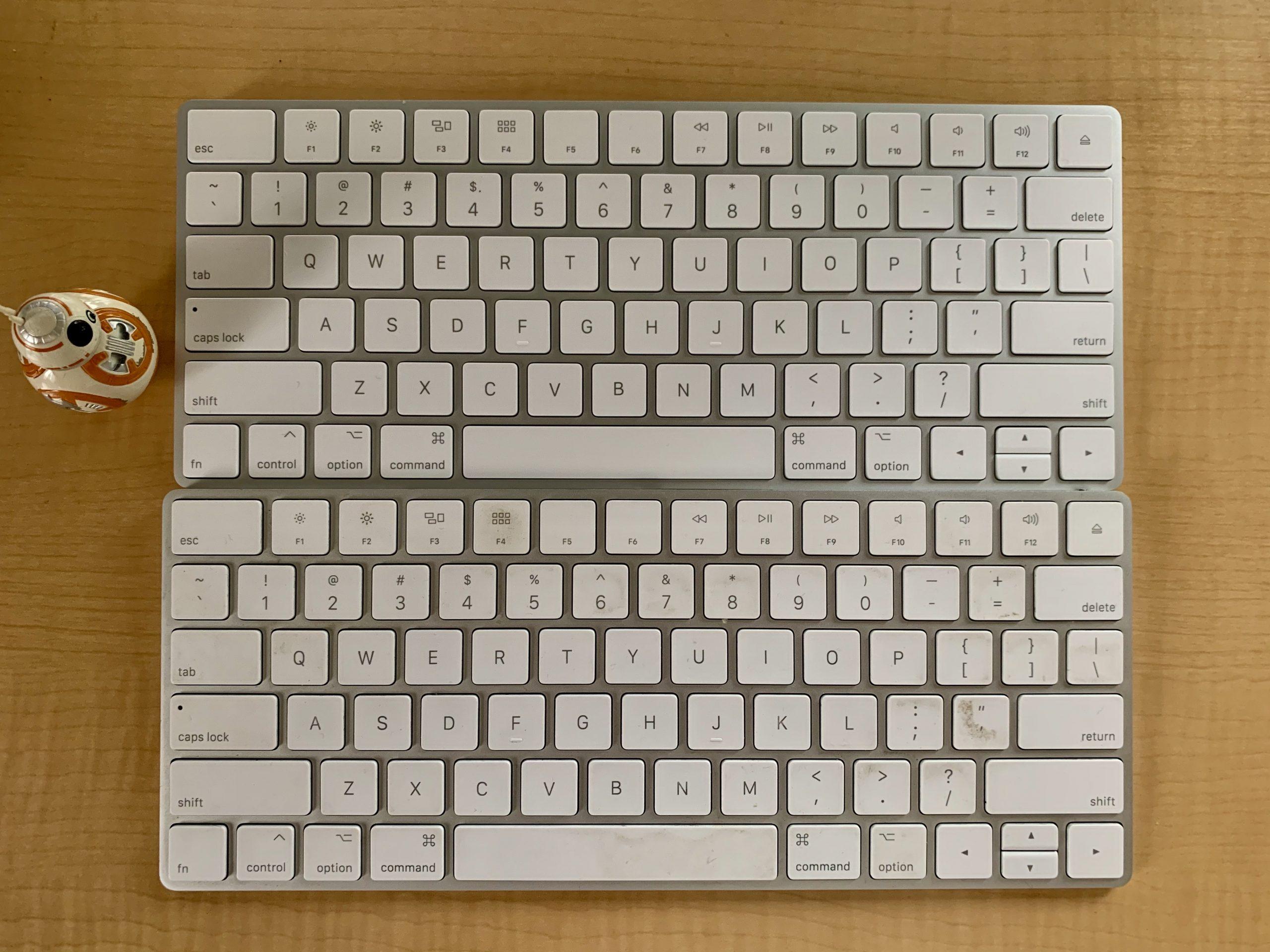 新型コロナな日々23(New Magic Keybord)