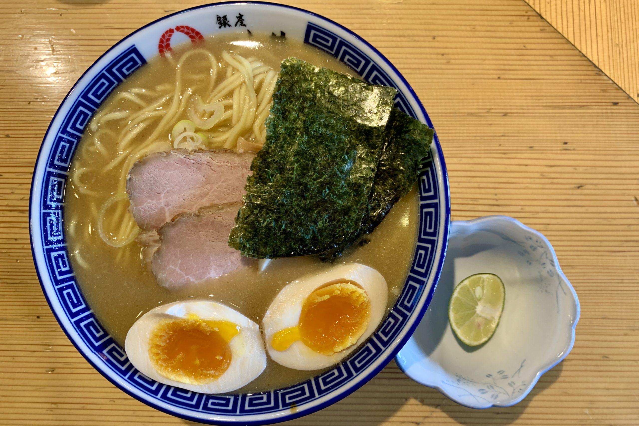 五反田の銀座・いし井の特製中華そば