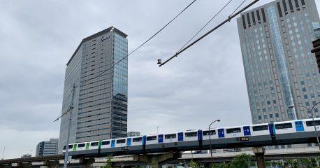 新型コロナな日々30(久しぶりの東京モノレール)