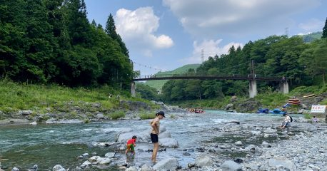 新型コロナな日々45(御岳渓谷の多摩川)